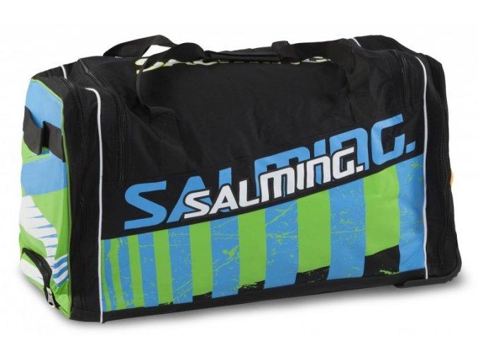 salming wheelbag ink black lime 1