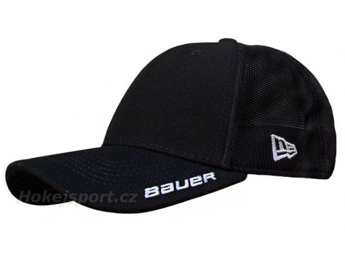 bauer cap mesh back cap blk 1