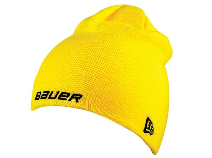 bauer kulich knit toque yellow