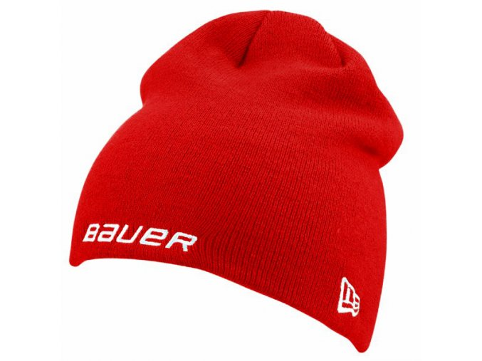 bauer kulich knit toque red