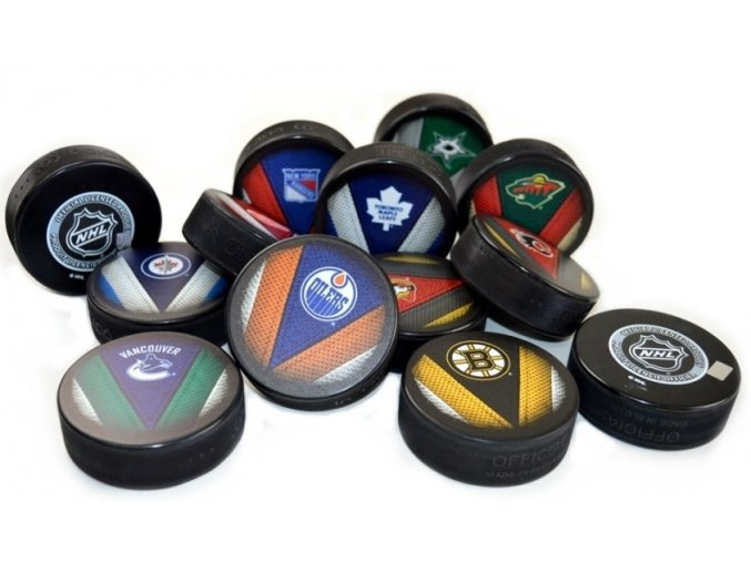 Oficiální fanouškovský puk NHL Anaheim Ducks