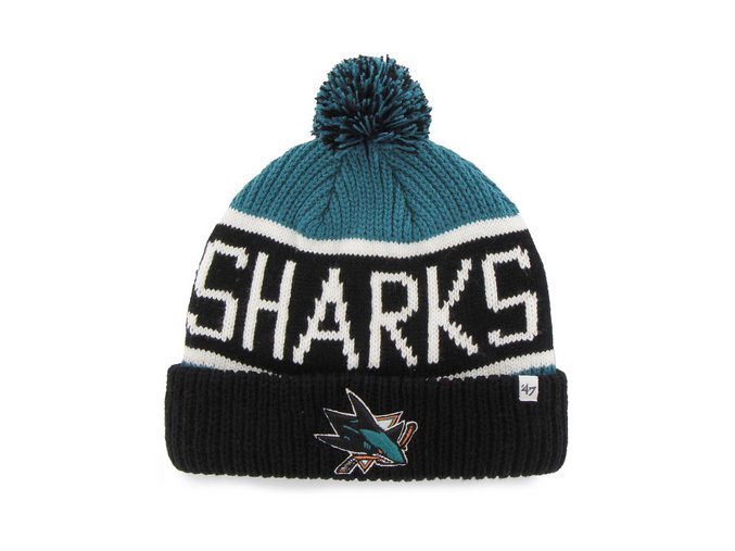 47 SanJose Sharks Cuff Knit1
