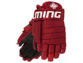 Rukavice Salming M11 PRO Senior Red