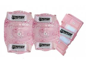 In-line chrániče Tempish Puppy Pink - 3 sada