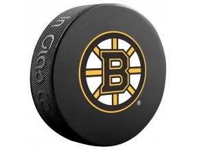 Oficiální fanouškovský puk NHL Big Logo Boston Bruins