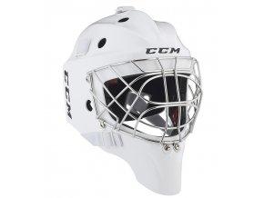 ccm goalie mask 1 9 wht 1