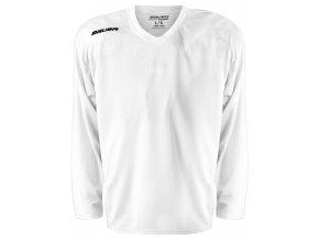 bauer dres flex practice jersey wht 1