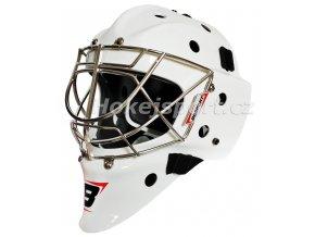 bosport goalie mask bm classic wht 1