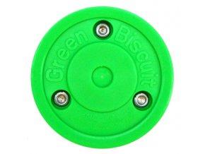 Tréninkový off-ice puk Green Biscuit