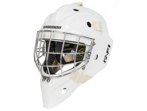 warrior goalie mask ritual f1plus wht 1
