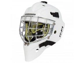 warrior goalie mask ritual f1 wht 1
