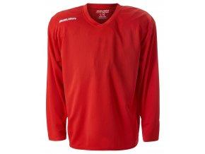 bauer dres flex practice jersey red 1