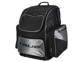 true backpack wheel bag blk sil 1