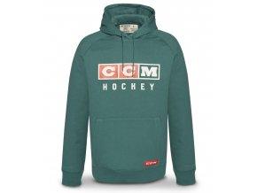 ccm mikina classic green