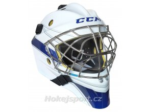 ccm goalie mask axis 1 5 wht roy 0