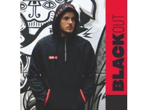 ccm mikina blackout 1 4 zip blk 1