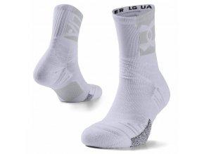 ua ponozky playmaker midcrew wht 1