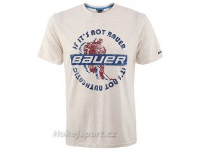 Triko Bauer Player Shadow Short Sleeve Tee