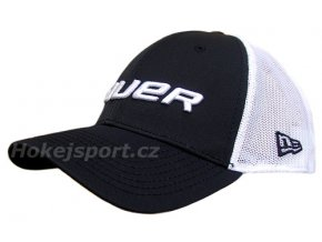 Kšiltovka Bauer New Era 39Thirty® Mesh Back Cap Black