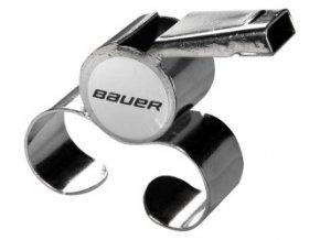 Píšťalka Bauer kovová