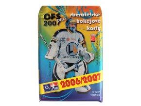 Hokejové kartičky O2 ELH OFS 2007 Plus
