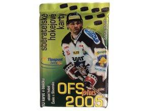 Hokejové kartičky Tipsport ELH OFS Plus 2005