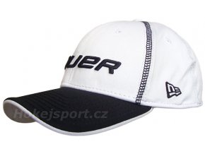 Kšiltovka Bauer New Era 39Thirty® Pre-Game Cap White