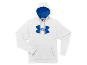 Mikina Under Armour Fleece Storm Big Logo White