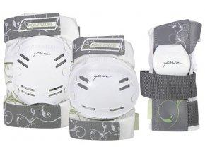 In-line chrániče Powerslide Standard Pure Tri-Pack - 3 sada