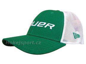 Kšiltovka Bauer New Era 39Thirty® Mesh Back Cap Green