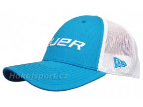 Kšiltovka Bauer New Era 39Thirty® Mesh Back Cap Blue