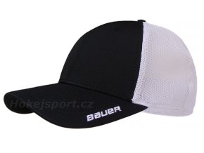 Kšiltovka Bauer New Era 39Thirty® Team Stretch Mesh Back Cap Black