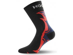 Ponožky Lasting HCH Ice Hockey Black/Red