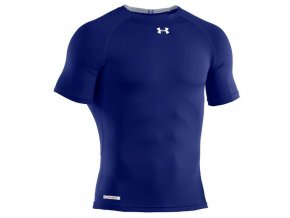 Ribano - Triko Under Armour HeatGear Sonic Compression S/S Senior Royal