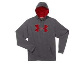 Mikina Under Armour Fleece Storm Big Logo Grey