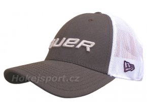 Kšiltovka Bauer New Era 39Thirty® Mesh Back Cap Gray