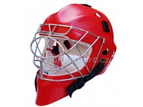Brankářská maska Rey HOMG 016 PE Boy Red