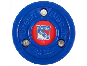 Tréninkový off-ice puk Green Biscuit NHL New York Rangers