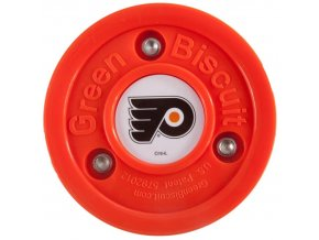 Tréninkový off-ice puk Green Biscuit NHL Philadelphia Flyers