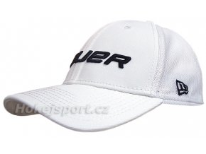 Kšiltovka Bauer New Era 39Thirty® Mesh Back Cap White