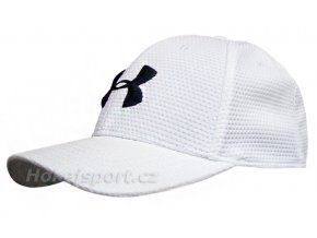 Kšiltovka Under Armour Blitzing II Stretch Cap White