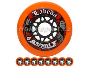 labeda asphalt orange 84a set