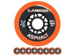 labeda asphalt orange 85a 21 set