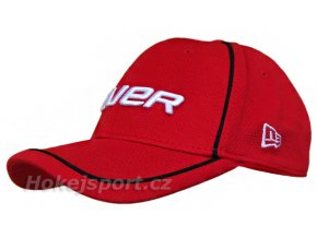 Kšiltovka Bauer New Era 39Thirty® Cap Vapor Red