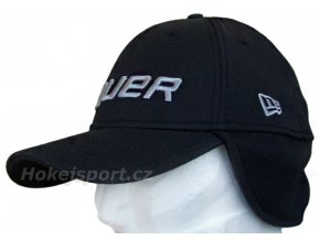Kšiltovka Bauer New Era 39Thirty® Cap With Ear Flaps Black
