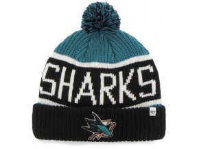 47 SanJose Sharks Cuff Knit1