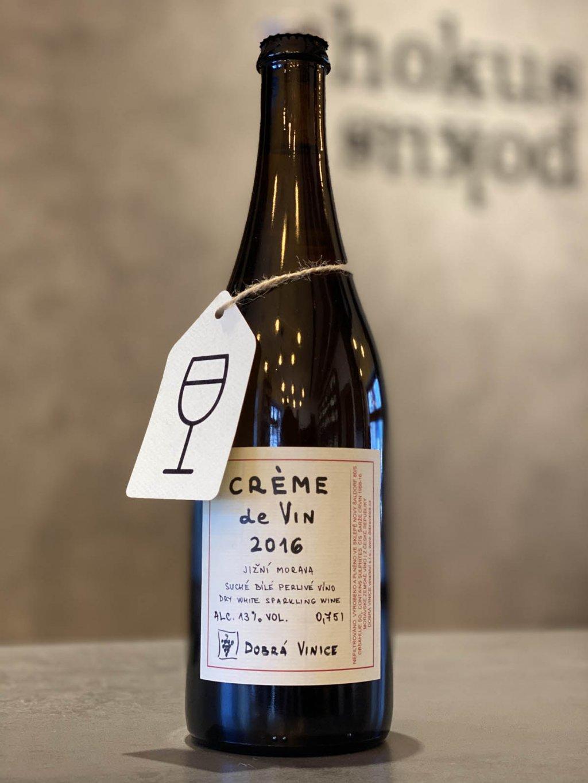 Dobrá Vinice - Créme de Vin 2016 PET NAT