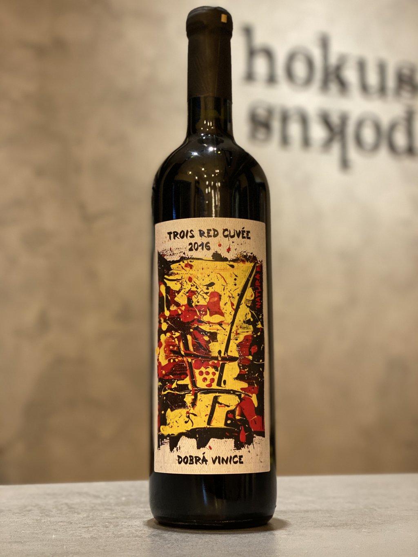 Dobrá Vinice - Trois Red Cuvée 2016