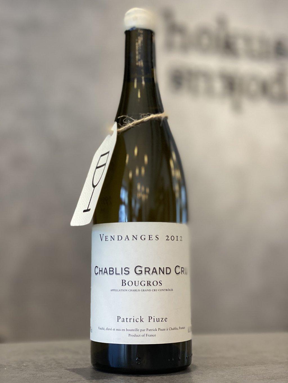 Patrick Piuze - Chablis Grand Cru Bougros 2012