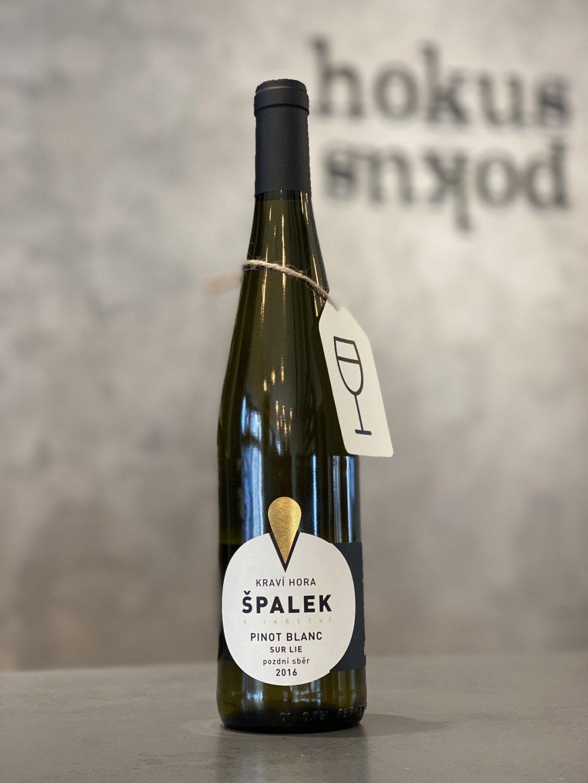 Špalek - Pinot Blanc pozdní sběr 2016 Sur Lie